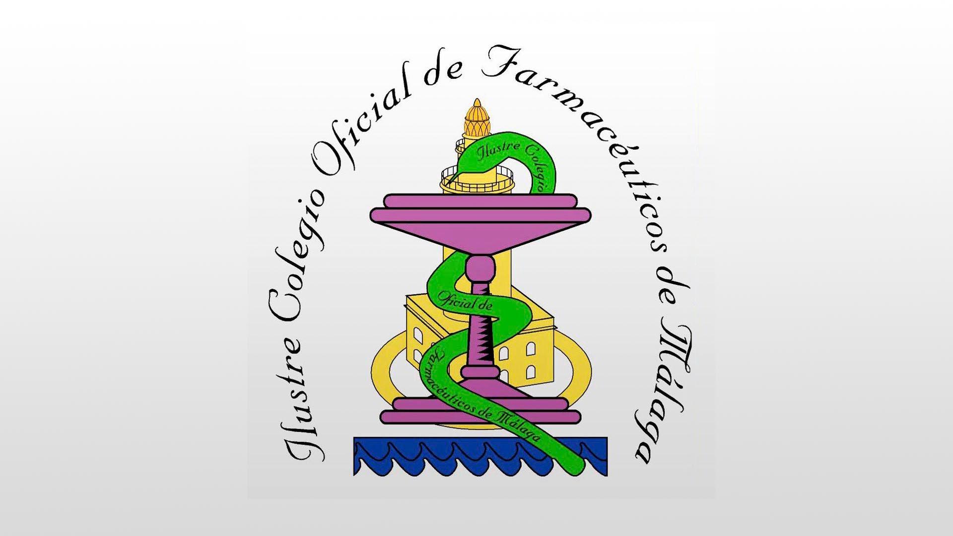 Logotipo Ilustre Colegio Oficial de Farmacéuticos de Málaga