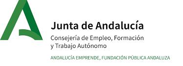 Logotipo Andalucia Emprende, Fundación Pública Andaluza